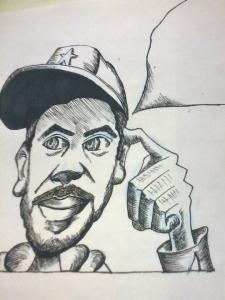 cartoon by Jamal Bell